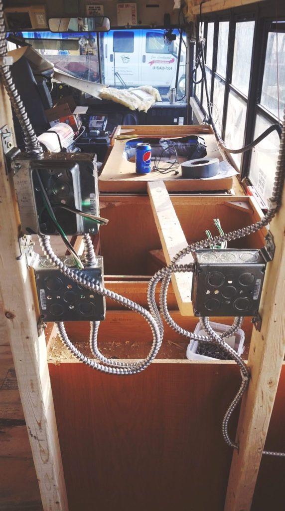 Skoolie Build Timeline Part 4 Electrical We Live On A Bus